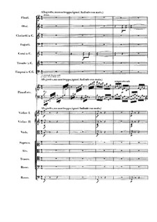 Fantasie in c-Moll, Op.80: Allegretto, ma non troppo by Ludwig van Beethoven
