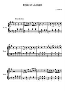 Весёлая мелодия, Op.18: Весёлая мелодия by Dmitri Solovyov