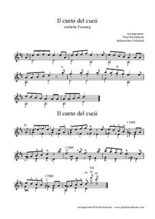 Il canto del cucù: Il canto del cucù by folklore