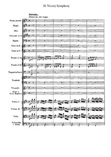 Wellingtons Sieg, oder die Schlacht bei Vittoria, Op.91: Teil II by Ludwig van Beethoven
