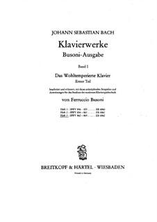 Ausgewählte Stücke: Teil II by Johann Sebastian Bach