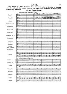 Vollständiger Oper: Akt II Nr.12-18 by Georges Bizet