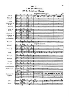 Vollständiger Oper: Akt III Nr.19-24 by Georges Bizet