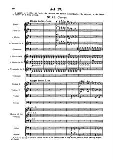Vollständiger Oper: Akt IV Nr.25-27 by Georges Bizet