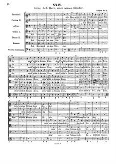 Ach Herr, mich armen Sünder: Ach Herr, mich armen Sünder by Johann Rudolf Ahle