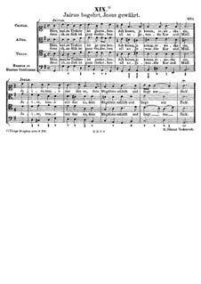 Jairus begehrt, Jesus gewährt: Jairus begehrt, Jesus gewährt by Johann Rudolf Ahle