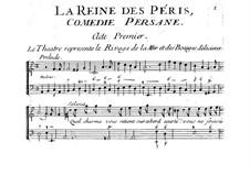 La Reine des Péris: Akt I by Jacques Aubert