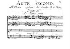 La Reine des Péris: Akt II by Jacques Aubert