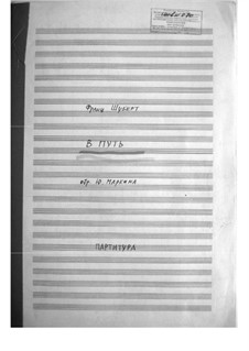 Nr.1 Das Wandern: For big band by Franz Schubert