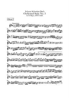 Vollständiger Zyklus: Oboenstimmen by Johann Sebastian Bach