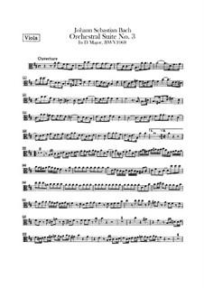 Vollständiger Zyklus: Bratschenstimme by Johann Sebastian Bach