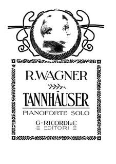 Vollständiger Oper: Für Klavier by Richard Wagner