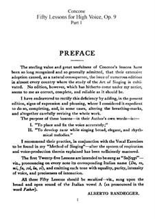 Für hohe Stimme: Nr.1-50 Vollständige Sammlung by Giuseppe Concone