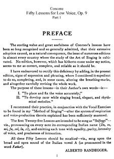 Für tiefe Stimme: Nr.1-50 Vollständige Sammlung by Giuseppe Concone