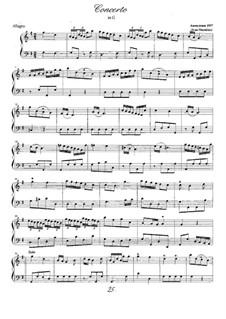 Concerto in G: Concerto in G by Ivan Shumilov