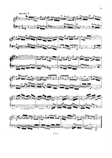 No.7 in e-moll, BWV 778: Für Cembalo (oder Klavier) by Johann Sebastian Bach