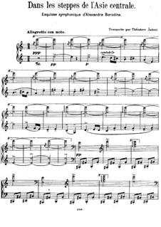 Eine Steppenskizze aus Mittelasien: Für Klavier by Alexander Porfiryevich Borodin