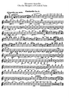 Eine Steppenskizze aus Mittelasien: Klarinettenstimme by Alexander Porfiryevich Borodin
