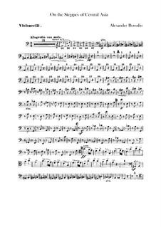 Eine Steppenskizze aus Mittelasien: Cellostimme by Alexander Porfiryevich Borodin