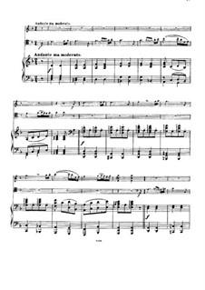 Streichsextett Nr.1 in B-Dur, Op.18: Teil II. Version für Klaviertrio by Johannes Brahms