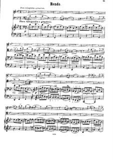 Streichsextett Nr.1 in B-Dur, Op.18: Teil IV. Version für Klaviertrio by Johannes Brahms