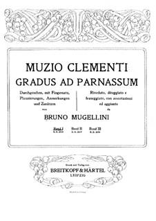 Mugellini Ausgabe: Buch I by Muzio Clementi