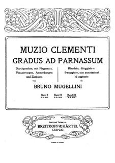 Mugellini Ausgabe: Buch III by Muzio Clementi