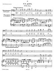 Der Sohn des Mandarin: Nr.6 Duo by César Cui