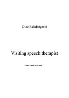 Visiting speech therapist: Visiting speech therapist by Dino Residbegovic