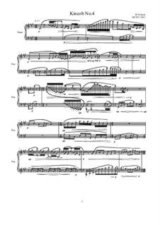 Kincob No.4 for piano, MVWV 1083: Kincob No.4 for piano by Maurice Verheul