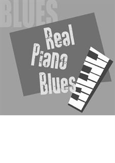 Real piano blues: Für Klavier by Fabio Gianni