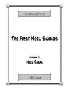 The First Noel Swings: For wind quartet – score and parts by folklore
