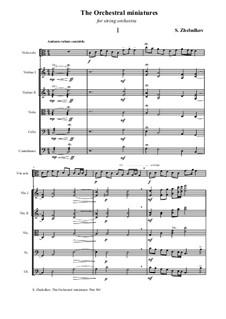 The Orchestral miniatures: The Orchestral miniatures by Sergei Zheludkov