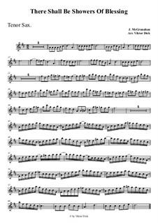 Mächtige Ströme des Segens: Für Tenorsaxophon by James McGranahan
