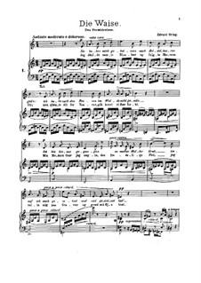 Sechs Gedichte, Op.4: Vollsammlung by Edvard Grieg