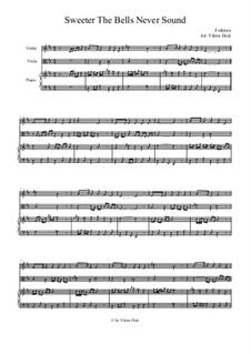 Süßer die Glocken nie klingen: Für Geige, Bratsche und Klavier by folklore