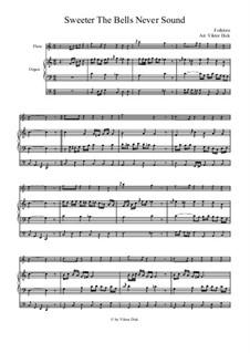 Süßer die Glocken nie klingen: Für Flöte und Orgel by folklore