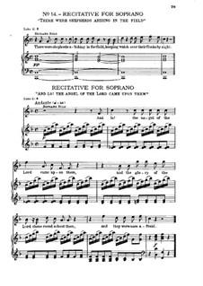 Nr.14 Es waren Hirten beisammen auf dem Felde: Nr.14 Es waren Hirten beisammen auf dem Felde by Georg Friedrich Händel