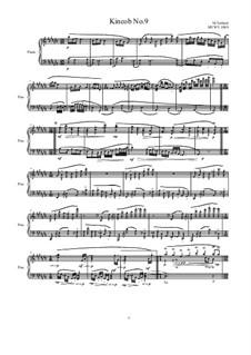 Kincob No.9 for piano, MVWV 1089: Kincob No.9 for piano by Maurice Verheul