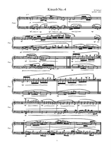 Kincob No.-4 for piano, MVWV 1093: Kincob No.-4 for piano by Maurice Verheul