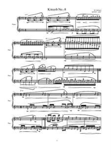 Kincob No.-8 for piano, MVWV 1097: Kincob No.-8 for piano by Maurice Verheul