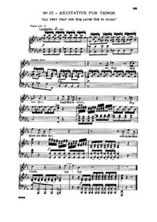 Nr.27 Und alle, die ihn seh'n: Nr.27 Und alle, die ihn seh'n by Georg Friedrich Händel