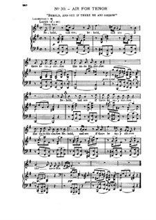Nr.30 Schau hin und sieh: Klavierauszug mit Singstimmen by Georg Friedrich Händel