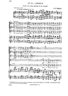 Nr.33 Machet das Tor weit: Nr.33 Machet das Tor weit by Georg Friedrich Händel