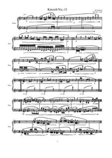 Kincob No.-11 for piano, MVWV 1100: Kincob No.-11 for piano by Maurice Verheul