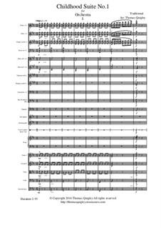 Childhood Suite No.1: For symphonic orchestra - 1st Movement by Johannes Brahms, folklore
