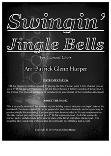 Jingle Bells: For clarinet choir by James Lord Pierpont