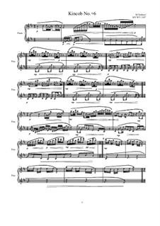 Kincob No.+6 for piano, MVWV 1107: Kincob No.+6 for piano by Maurice Verheul
