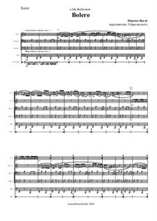 Bolero, M.81: Vollpartitur by Maurice Ravel