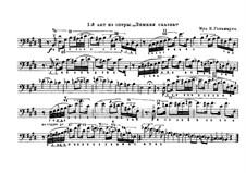 Ein Wintermärchen: Fragment, für Kontrabass by Karl Goldmark